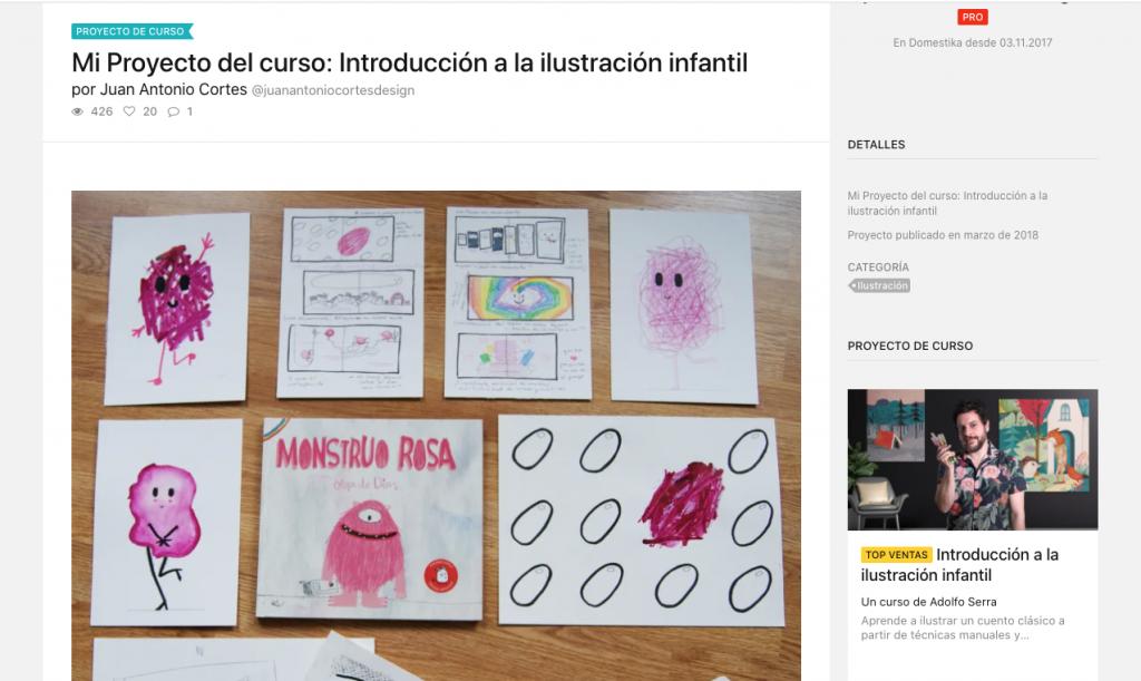 Curso de ilustración infantil Olga de Dios