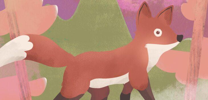 Dibujo de zorro