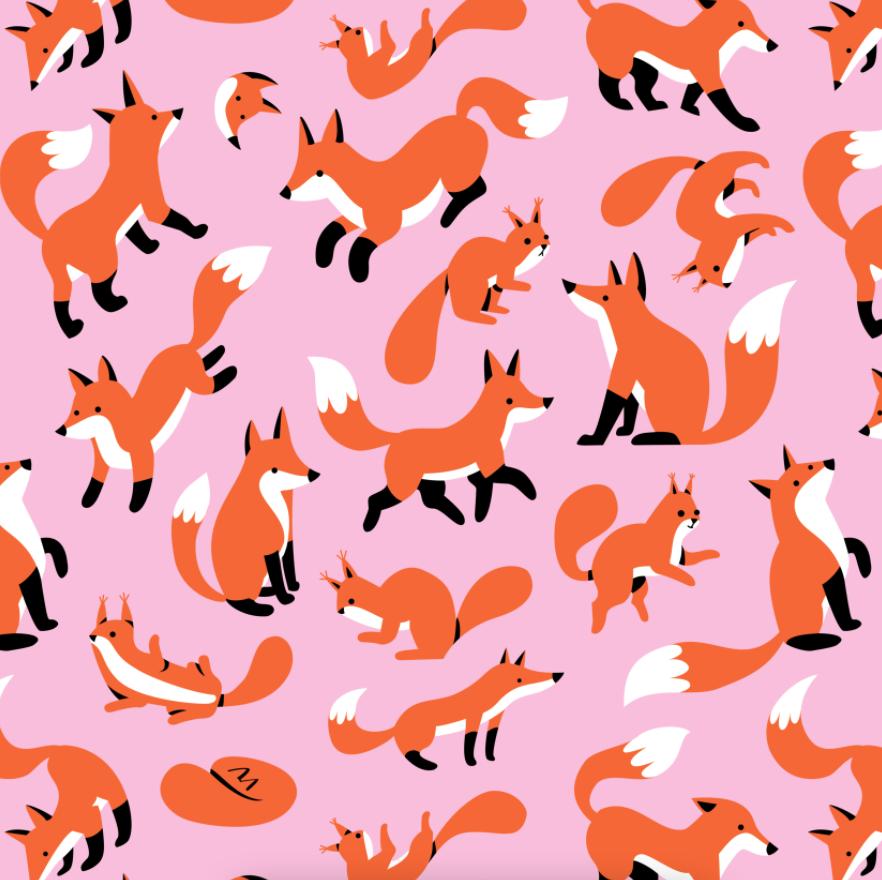 Dibujos de zorros de Susann Hoffmann