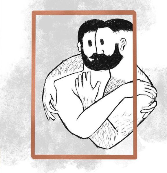 Iustración con Procreate inspirada en Mivo